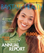 ANNUAL REPORT - Baystate Health
