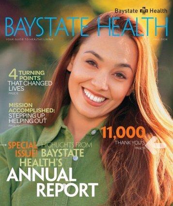 ANNUAL REPORT - Baystate Health