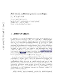 arXiv:gr-qc/9212014 v1 21 Dec 92 - iucaa