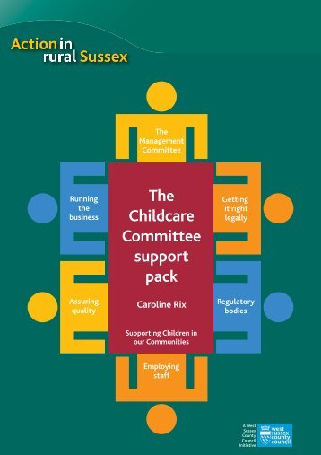 Childcare Committee Support Pack - West Sussex County Council