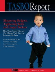 June 2009 - Texas Association of School Business Officials