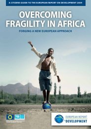 overcoming fragility in africa - European Commission - Europa