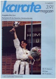 DKV-Magazin Nr. 3 - Chronik des deutschen Karateverbandes