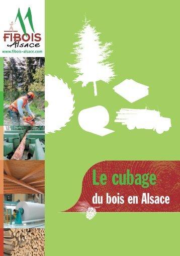 Le cubage - FIBOIS Alsace