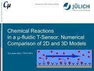 Chemical Reactions Chemical Reactions in a µ ... - COMSOL.com