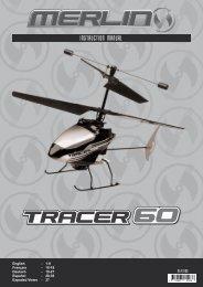 Bedienungsanleitung Merlin TRACER 60 RTF 2.4Ghz Hubschrauber