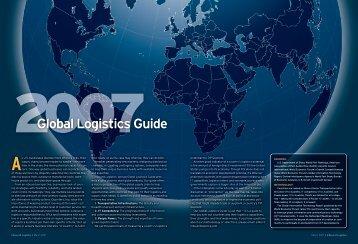Global Logistics Guide 2007 - Inbound Logistics