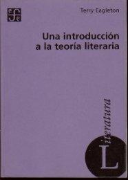 Una introducción a la teoría literaria - Exordio