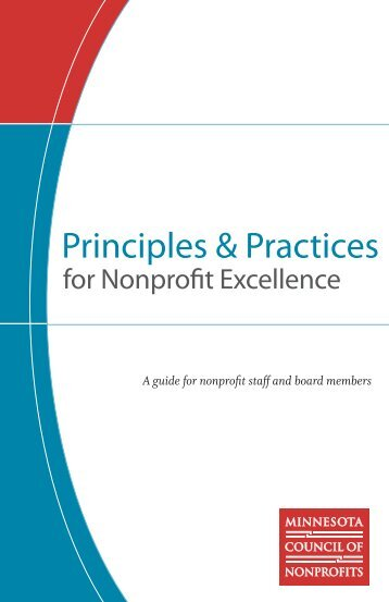 Principles & Practices for Nonprofit Excellence - Minnesota Council ...