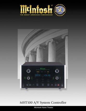 MHT100 A/V System Controller - Audio Classics