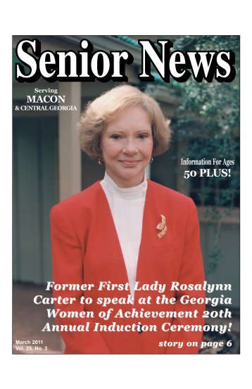 March - Senior News Georgia