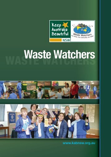 WASTE WATCHERS Waste Watchers - Halve Waste