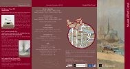 Dépliant du musée Alfred Canel - Ville de Pont-Audemer