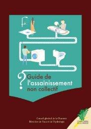 Guide de l'assainissement non collectif - Guide des démarches