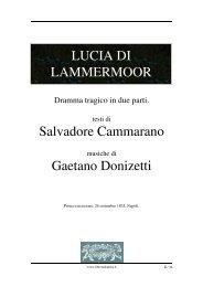 Lucia di Lammermoor - Fulmini e Saette