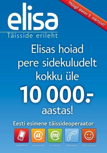Elisas hoiad pere sidekuludelt kokku üle aastas!