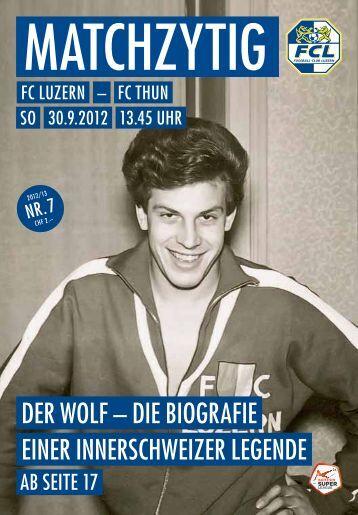 Ausgabe 7 - FC Luzern