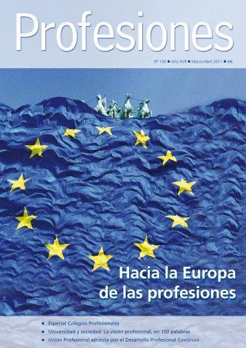 descárgate la revista en formato pdf - Revista Profesiones