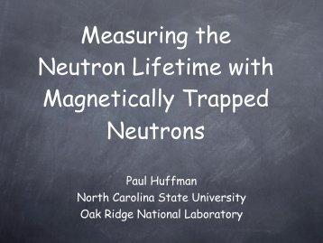 Measuring the Neutron Lifetime with Magnetically Trapped Neutrons