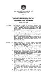 Rencana Pembangunan Jangka Panjang (RPJP) Kabupaten Luwu ...