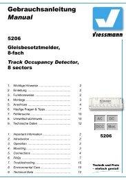 Track Occupancy Detector  - Viessmann Modellspielwaren GmbH