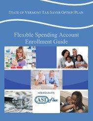 Flexible Spending Account Enrollment Guide - Department of ...