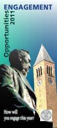 ENGAGEMENT - Alumni - Cornell University