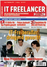 IT Freelancer Magazin Nr. 4/2011