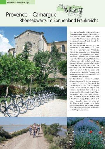 Provence – Camargue - Die Landpartie Radeln und Reisen GmbH