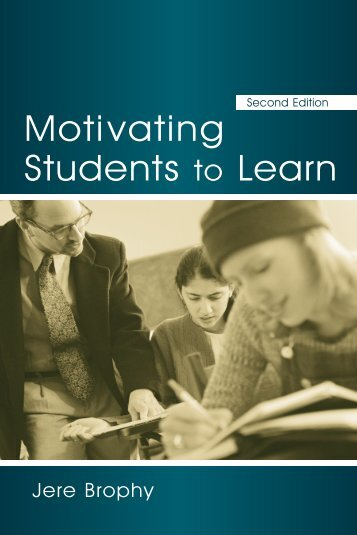 Motivating Students to Learn, Second Edition - Milwaukee Public ...