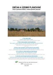 Občan a územní plánování - Ústav územního rozvoje