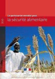 Le partenariat mondial pour la sécurité alimentaire - France ...