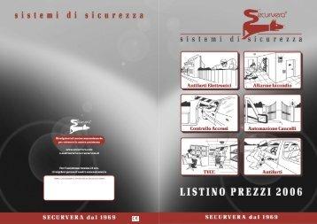 Listino PDF 2006 - securvera