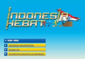 AUTOMOTIVE INDUSTRY IN INDONESIA ... - EIBD Conference