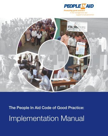 Implementation Manual - One World Trust