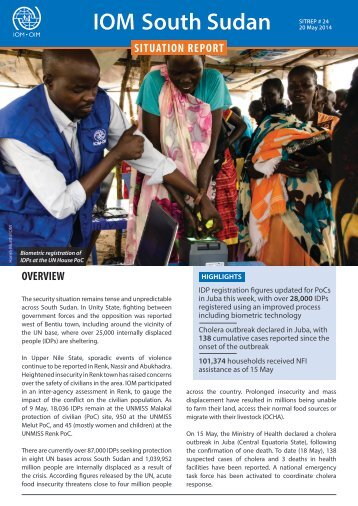 IOM-South-Sudan-Situation-Report-20-May-2014
