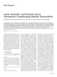 Acute Aortoiliac and Femoral Artery Thrombosis Complicating ...