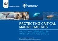 protecting critical marine habitats - Humane Society International