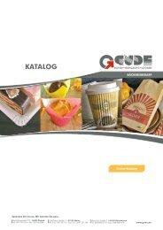 Gude Katalog Bäckereibedarf - F. u. G. Gude GmbH