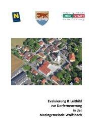 Evaluierung & Leitbild zur Dorferneuerung in der Marktgemeinde ...