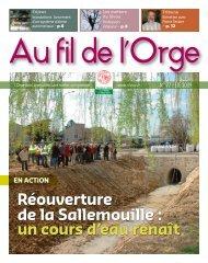 Réouverture de la Sallemouille : un cours d'eau renaît - Sivoa