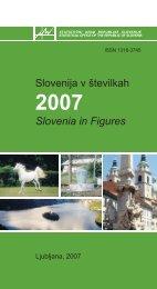 Slovenija v številkah 2007 - Statistični urad Republike Slovenije