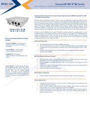 Tsunami MP-8160 - Leading provider of wireless products, services ...
