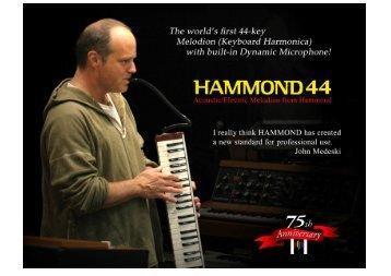 Keyboard Harmonica - Hammond.de