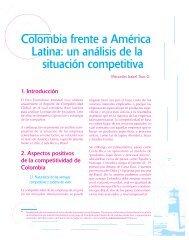 Colombia frente a América Latina: un análisis de la situación ...