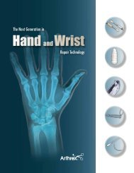 The Next Generation in Hand and Wrist Repair ... - Ortomedic