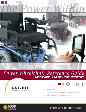 Power Wheelchair Reference Guide - Sunrise Medical