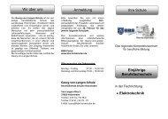 • Elektrotechnik Wir über uns Anmeldung Ihre ... - BBS-Holzminden