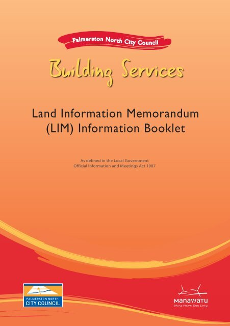 Land Information Memorandum (LIM) - Palmerston North City Council