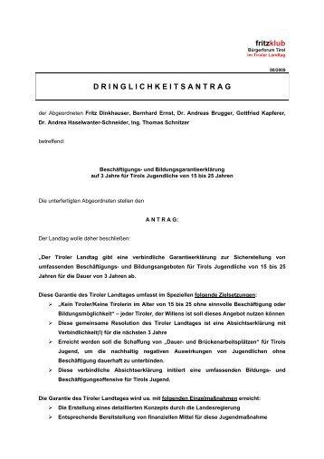 anklicken & anschauen - Liste Fritz